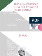 Tecnologias II Metal- Acero