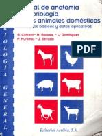 Manual de Anatomia y Embriologia de Los Animales Domes Ti Cos - S. Climent, L. Dominguez