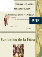 Evolucion de La Etica