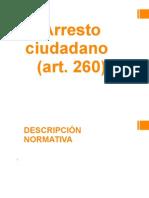 Arresto Ciudadano - Procesal Penal