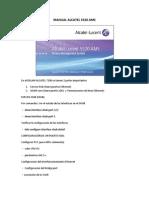 Configuración AMS ALCATEL