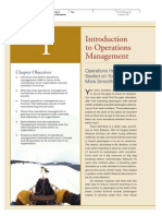 Fundamentals of Operations Management - Chapter 1