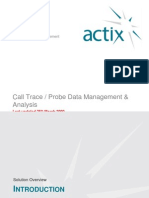 ActixOne Call Trace Management Detail 25th March 2009 DRAFT