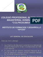 ley general de educación glendy aragón