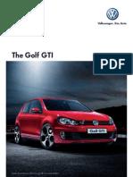 Golf Gti Brochure