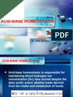 Acid Base Homeostasis