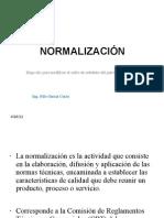 Normalización 2011 II
