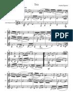 Trio for Clarinets