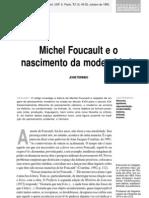 Michel Foucault e o Nascimento Da Modernidade