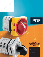 BremasErsce Catalogue 2011 - Cam Switches CR Series