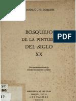 Rodriguez Doreste J - Bosquejo de La Pintura S XX
