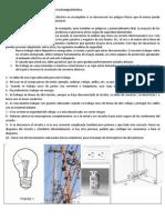 Normas de Seguridad para el trabajo con la Energía Eléctrica