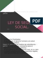Expo Abel Ley Seguro Social