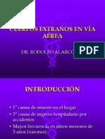 7. CUERPOS EXTRAÑOS VIA AEREA 2011