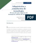 Adquisicion y Asimilacion de Tecnolgia