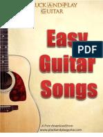 Easy Guitar Songs eBook