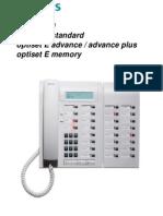 Siemens Optiset E Standard