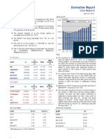 Derivatives Report 26th April 2012