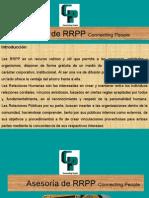 Asesoría de RRPP Connecting People