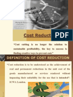 Cost Reduction Present