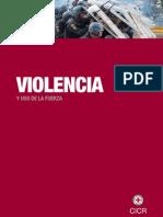 Violencia y Uso de La Fuerza