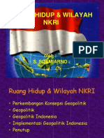 Presentasi Ruang Hidup & Wilayah Nkri