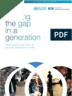 Social Determinants of Health Executive Summary