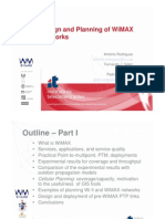 Design and Planning of WiMAX Networks