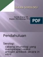 Uji serologi