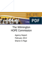 agency report - wilmington hope commission