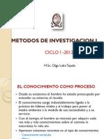 Metodos de Investigacion i