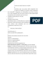 Cari Fungsi Dari Library Class Pada Java