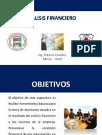 PRESENTACIÓN ANÁLISIS FINANCIERO