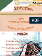 semiotica y semantica