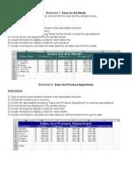 01. Basic Spreadsheet Concepts