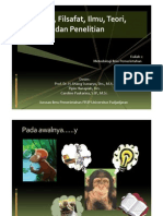 Agama, Filsafat, Ilmu, Teori, Dan Penelitian