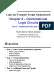Data Logic Desgin - Combinational Logic Circuits
