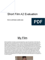 Final Media a2 Evaluation