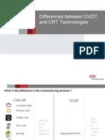 OVDT vs CRT - General