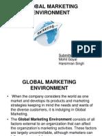 Global Marketing Environment