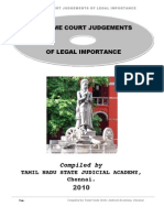 SC Judgments Index