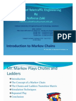 Intro to MarkocChain Chutes-And-Ladders