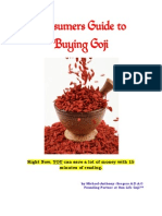 Consumers Guide to Buying Goji