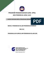 PIM3101 Pen Gen Alan Kurikulum Pendidikan Islam SR