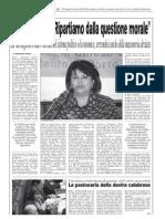 Il Domani Intervista Angela Napoli 17.12.08
