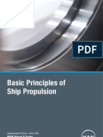 Basic Principle of Ship Propulsion