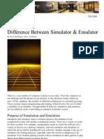 Difference Between Simulator & Emulator _ eHow
