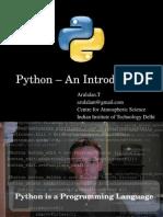 Python an Intro - odp