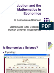 Introduction Mathematics in Economics-1