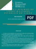 Autores e Resumos de Livros Militares Estaduais